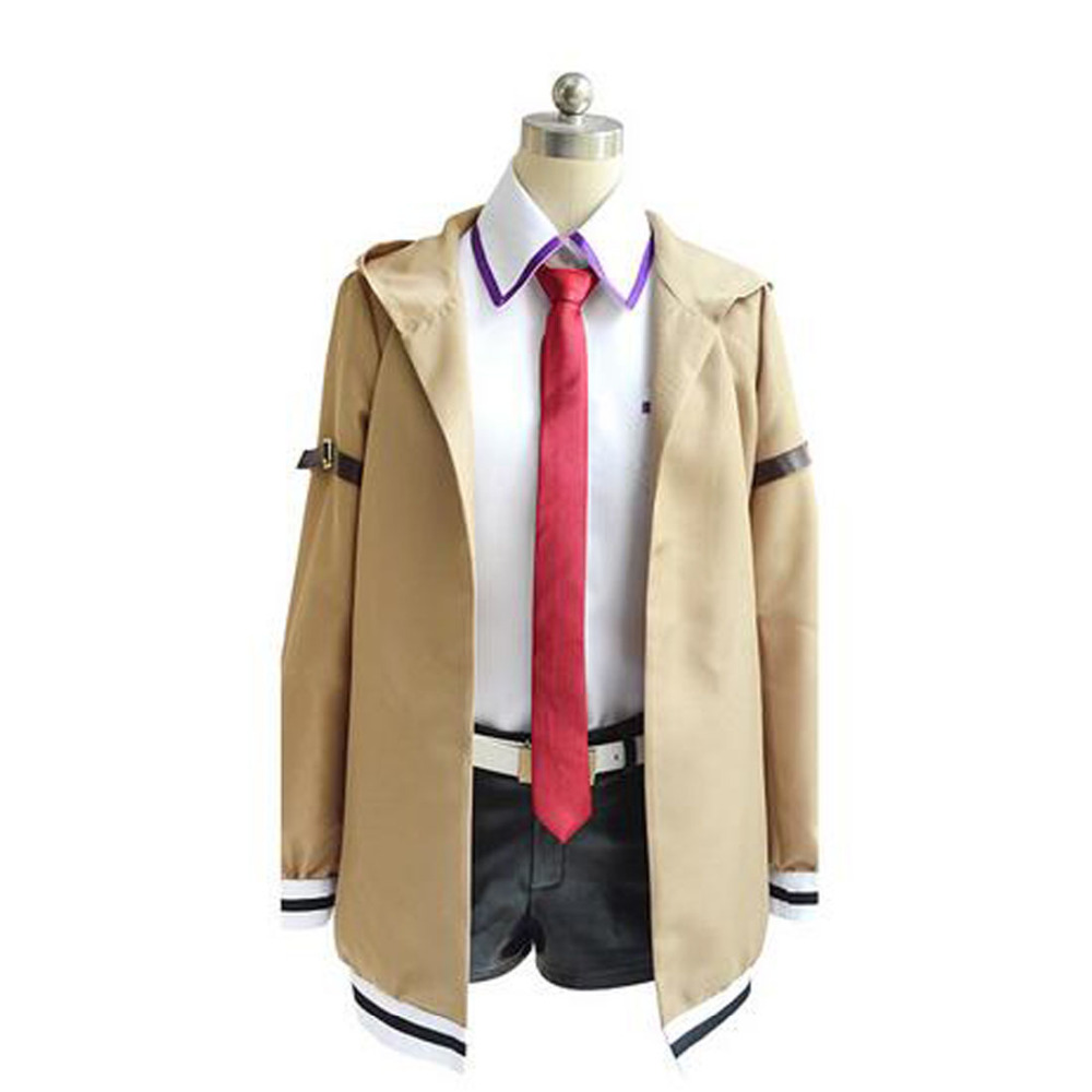 2017 Steins Gate Makise Kurisu Cosplay Costume Stage Performence Clothes