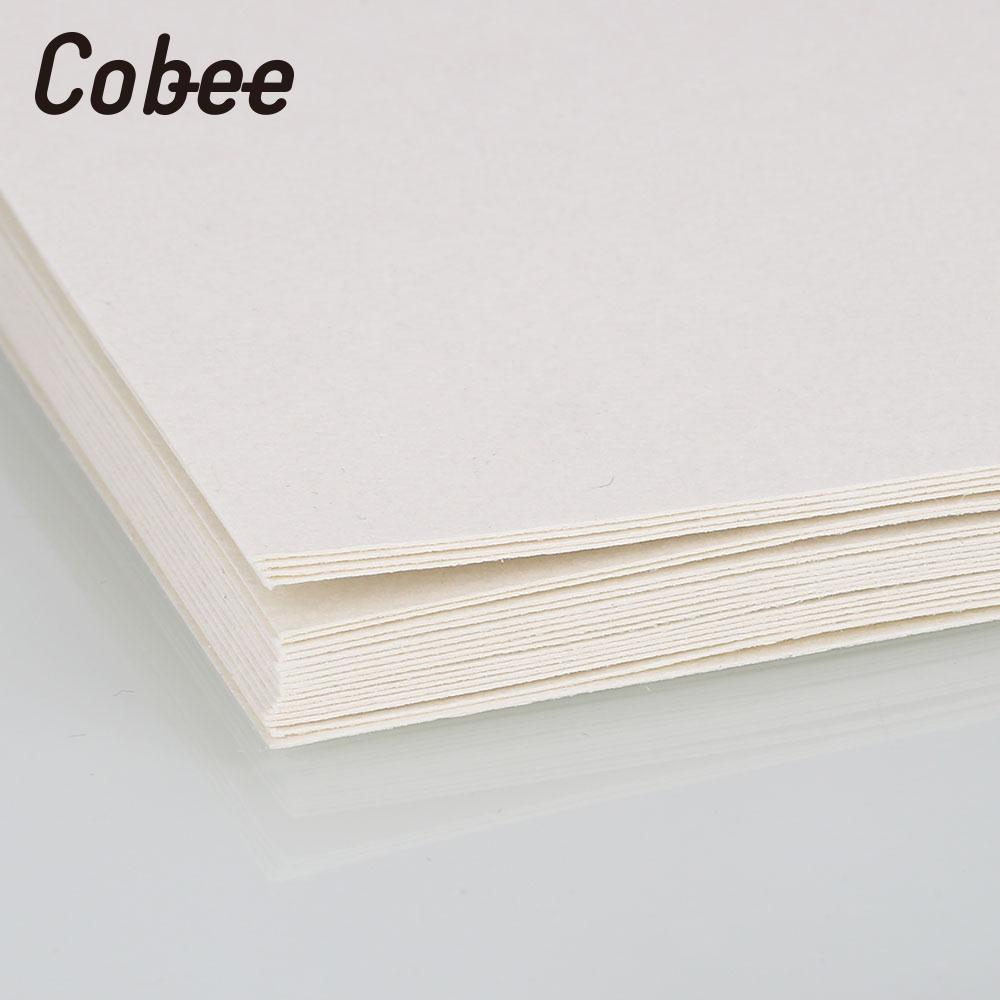 Sketch Book Drawing Paper Sketch Pad Wood Color Sketch Paper Graffiti Durable Student Professional 20pcs/Bags