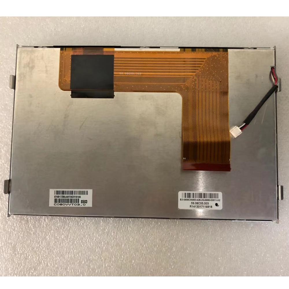 Écran LCD AUO 8.0 pouces avec écran tactile à condensateur C080VVT03.0 C080VVT03 800 (RGB) * 480 pour la navigation gps de voiture Volkswagen VW