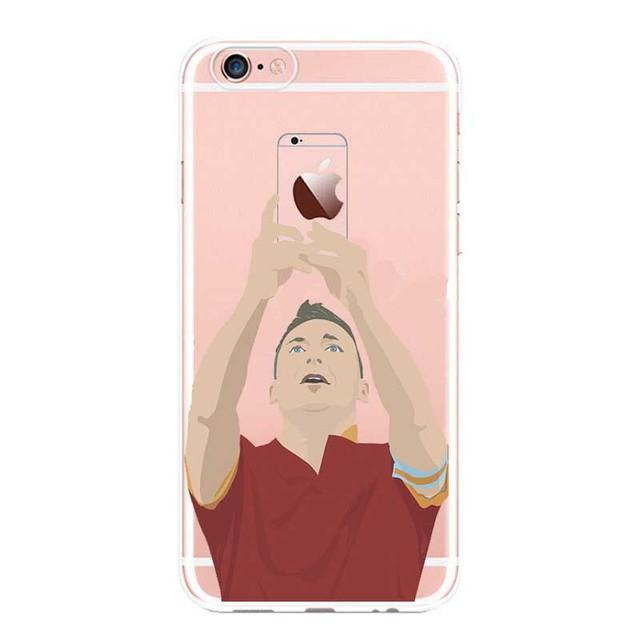 Football Star Cristiano Ronaldo Lionel Messi  Paulo Dybala  Phone Case iPhone 5 5C SE 6 6plus 7