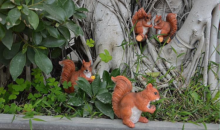 Écureuil place Tapis Forêt Inhabitant OEUVRE d/'art Tischsets 4er Set Digital Pression