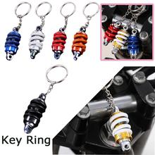 Hot Car Keychain Motorcycle Modified Shock Absorber Key Ring Automobile Damping