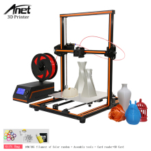 High Precision Anet E12 E10 Anet A8 A6 Imprimante 3D Printer Update Threaded Rod Reprap Prusa i3 Impresora 3D Printer DIY Kit