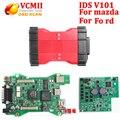 VCMII Профессиональный Для Ford лучший Чип VCM 2 OBD2 Автомобиля Диагностический Сканер VCM II Для Фо-й для Ма zda VCMII IDS V101 DHL Свободный Корабль