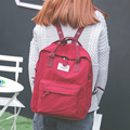 2017 New Fresh Female Backpack Women Preppy School Bags For Teenagers Nylon Canvas Travel Bags Girls Laptop Backpack Mochila