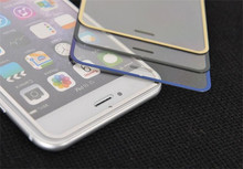 best Clear Screen Protector For iPhone 6 Tempered Glass Full Cover 3D Titanium Protective Film