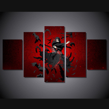 Tableau decoration murale Modular pictures HD Printed itachi uchiha Print room decor print poster picture canvas Free shipping
