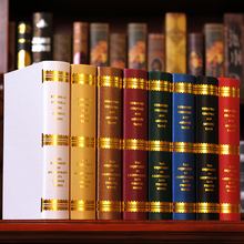 10PC Book  European simulation    Photography study bookcase props simulation  Fake  mode  box 0543 book decoration