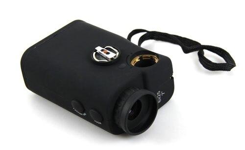 Canislatrans Laser Rangefinder Monocular Range Speed Finder Black 15-600m Rangefinder Measuring Tool For Golf,Hunting OS28-0005