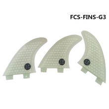 Fins FCS G3/G5 Fin Surf boards in Surfing  Fiberglass Honeycomb G5 upsurf logo