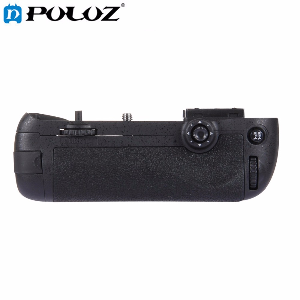 PULUZ Camera Vertical Battery Grip holder for Nikon D7100 / D7200 DSLR Camera replace for MB-D15 MBD15 MB D15 as EN-EL15 travor battery grip holder for nikon d7100 d7200 dslr camera replacement mb d15 1pcs en el15 li ion battery 2pcs lens cloth