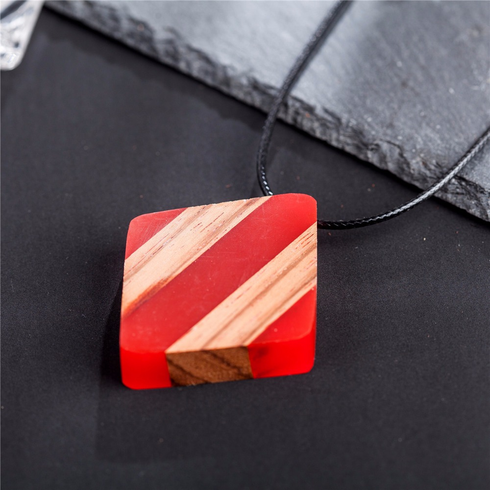 Wholesale beautiful resin wood pendant women jewelry statement wholesale beautiful resin wood pendant women jewelry statement necklaces pendants choker long necklace colar drop shipping in pendant necklaces from aloadofball Choice Image