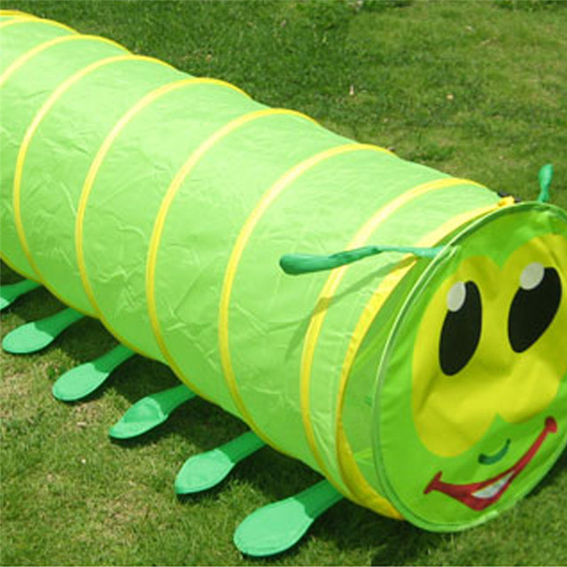 Caterpillar Crawling Tunnel Toy