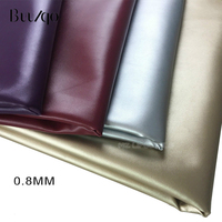 buulqo PU Napa leather soft bag leather Faux Leather Fabric for Sewing, PU artificial leather for DIY bag material,