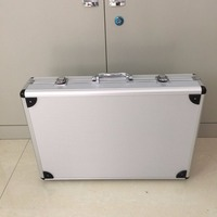 ETJ Brand Aluminum Case Carrying Box Impact Resistant Safety Case Equipment With Pre Cut Foam For Wireless Microphone