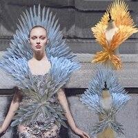 Костюмированные белые, серебряные, золотые Мультяшные ангельские крылья с перьями для модных выставочные дисплеи для свадебной съемки рек