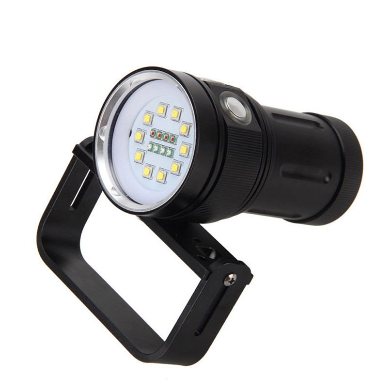 Yimistar #D003 Riding Lamp Bike Bicycle Light Outdoor 10x XM-L2+4x R+4x B 12000LM LED Bicycle Accessories Wholesale P80