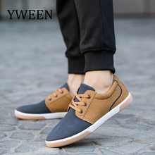Купить с кэшбэком YWEEN Men's Casual Shoes 2018 Spring Autumn Lace up Shoes Breathable Fashion Sneakers Men Shoes