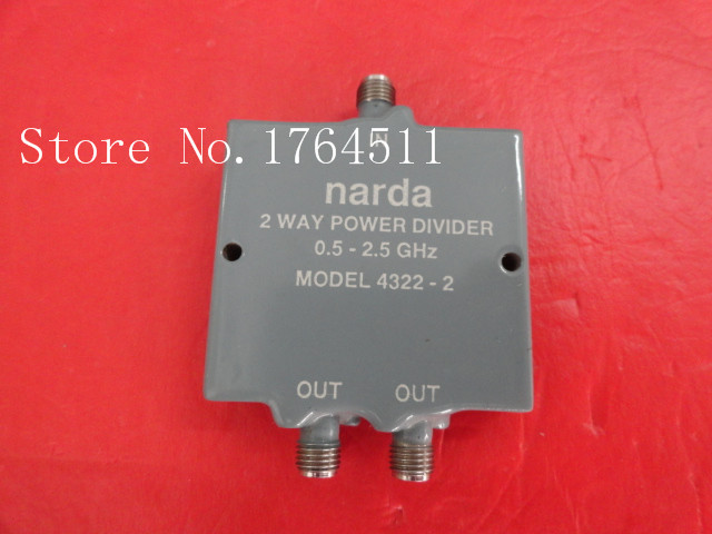 [BELLA] A two Narda power divider 4322-2 0.5-2.5GHz SMA