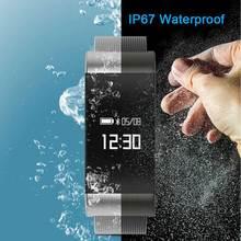 A66 умный Браслет пульсометр Приборы для измерения артериального давления крови кислородом Bluetooth 4.0 Smart Band Водонепроницаемый браслет шагомер часы