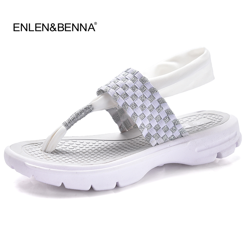 2017 Women's Shoes Summer Wedges Sandals Fashion Lady Flip Flops Ultralight Woman Casual Shoes Breathable Platform Sandalias 41# phyanic 2017 gladiator sandals gold silver shoes woman summer platform wedges glitters creepers casual women shoes phy3323
