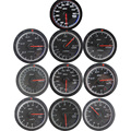 60MM volt meter water temp oil temp gauge turbo Boost  gauge oil press meter Exhaust gas temp gauge EGT/EXT Vacuum gauge