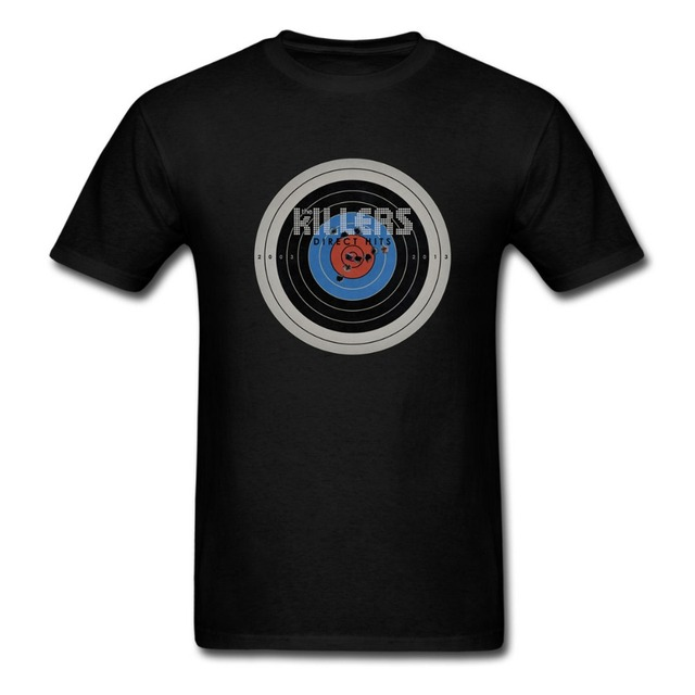 e62b3f778 The Killers Direct Hits Line Hot Fuss Album Concert Tour Men Women T Shirt  BATTLEBORN Rock Band Tee euro sizeS-XXXL
