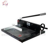 320mm A4 cortador de papel pesado todo metal Ream guillotina papel Cúter máquina cortador Perforadoras de papel