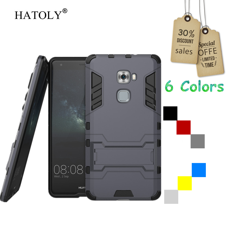 Cover Huawei Mate S Case Rubber Robot Armor Slim Hard Back Phone Case for Huawei Mate S Cover for Huawei Mate S Case Bag HATOLY