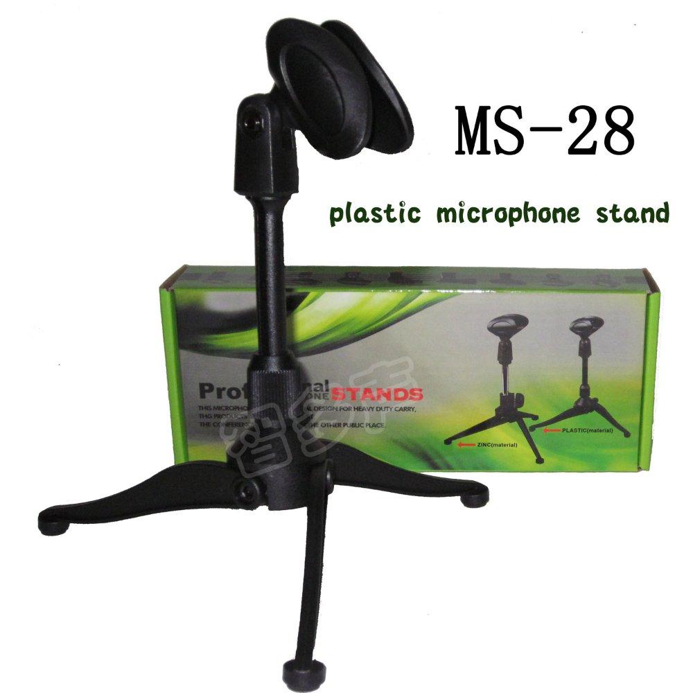 Desktop Tripod  Folding Microphone Stand Plastic Adjustable For SM 57 58 SM57  Beta 58A 87A FREE SHIPPING 1pcs/LOT