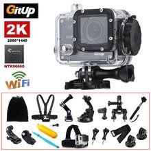 Gitup Git2P Wi-Fi 2 К 10180 P Full HD профессиональный шлем видео HDMI тире Action Sports Камера 18 170 градусов широкий формат Водонепроницаемый