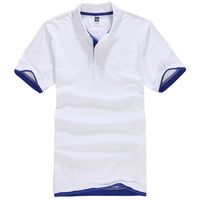 Брендовая Новая мужская рубашка поло мужская хлопковая рубашка с коротким рукавом спортивная футболка Golftennis плюс размер XS-3XL рубашки-поло ...