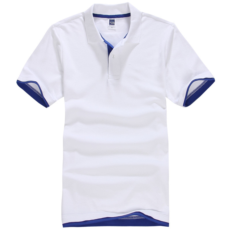 Brand New Mens Polo Shirt Men Cotton Short Sleeve Shirt Sportspolo Jerseys Golftennis Pl ...
