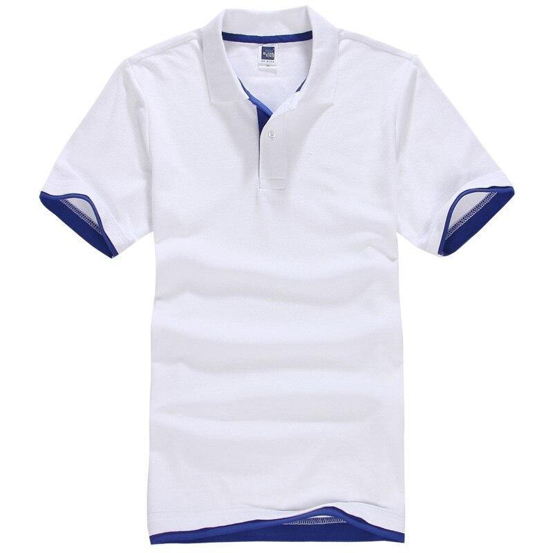 Marque Nouveau Hommes de Polo Shirt Hommes Coton À Manches Courtes Chemise Sportspolo Maillots Golftennis Plus La Taille XS-3XL Camisa polos Homme