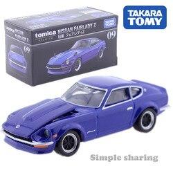 Tomica premium #09 nissan fairlady z escala 1/58 takara tomy molde de metal modelo carro veículo brinquedos para crianças colecionáveis novo