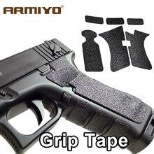 Armiyo bande de fixation pour pistolet, Texture en caoutchouc antidérapante, G17, G19, G20, G21, G22, G25, G26, G27, G33, G43, 9mm, étui de pistolet, accessoires