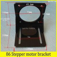86 Stepper motor bracket Iron+paint Mounting L Bracket Mount 86 series stepper motor mounts bracket