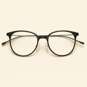Image 5 - NOSSA Brand Ultralight TR90 Optical Glasses Frames Korea Style Fashion Casual Eyewear Frames Men Women Myopia Eyeglasses Frame