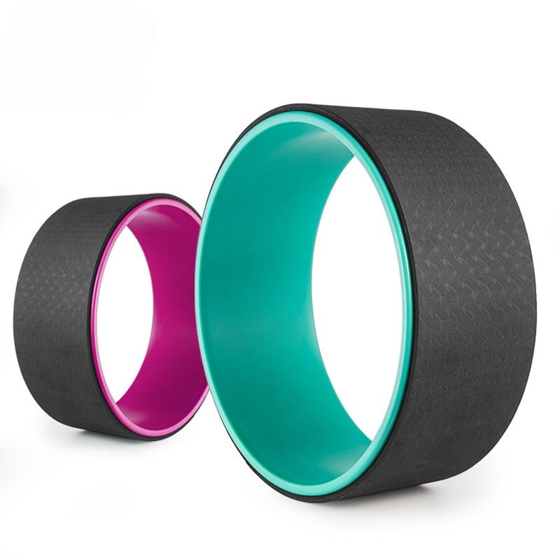 Many Colors 33*33*14cm Pilates Magic Circle TPE yoga round Wheel Ring Slimming Gym Yoga Fitness Home Bodybuilding circle