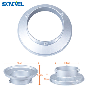 Image 1 - 150mm Dia. Mounting Flange Ring Adapter for Flash Acessories fits Bowens Mount Suitable for Godox S type Softbox