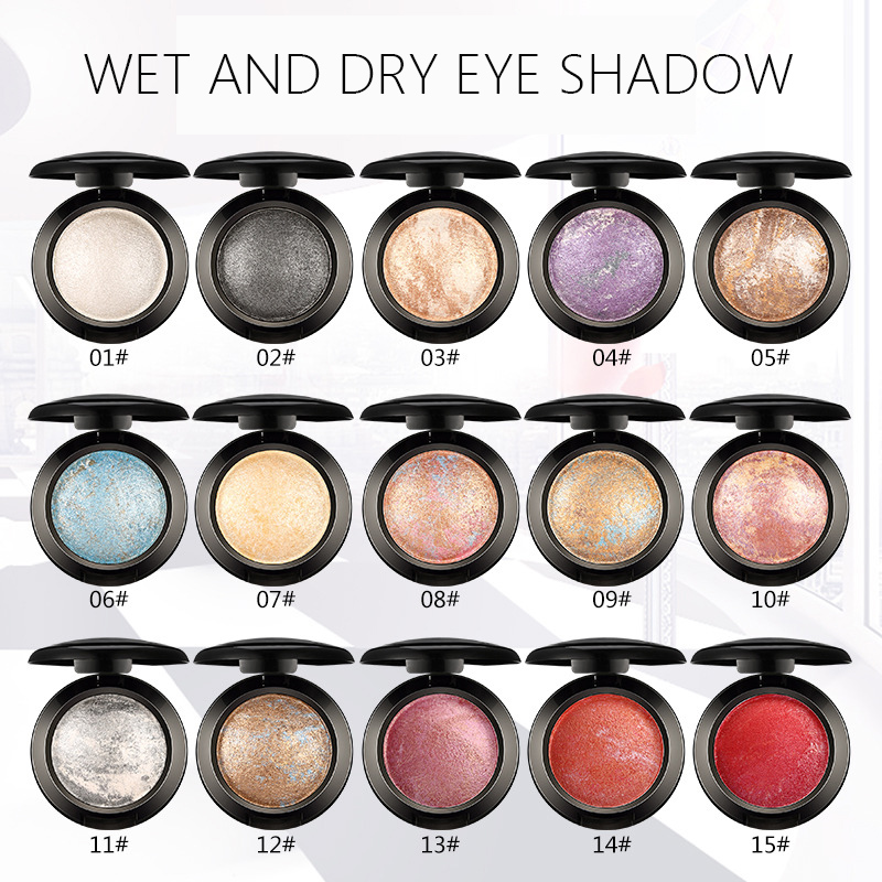 1PCS Quality 15 Color UBUB Professional Nude eyeshadow palette makeup matte Eye Shadow palette Make Up Glitter eyeshadow 1
