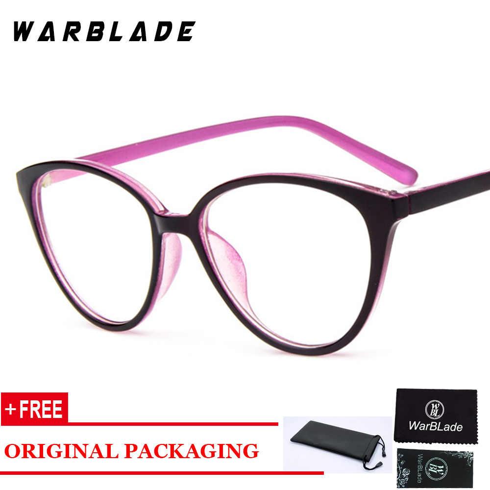 6ab40d8ef7 ... Vintage Cat Eye Clear Glasses Frame Ladies Eyeglasses Luxury Brand  Designer Spectacle Frame Women Optical Eyewear ...