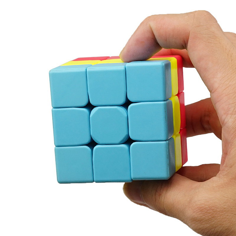 Children's toys puzzle magic cubes decompression bumps small three-dimensional shaped magic cubes toys suitable for 3 years old