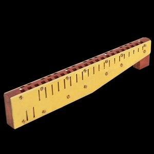 Image 5 - Qimei Alto Sopran Horn Mundharmonika Schlüssel C Horn Ton Holz Kamm Messing Schilf Harfe Qimei Mund Orgel Professionelle Musical Instruments