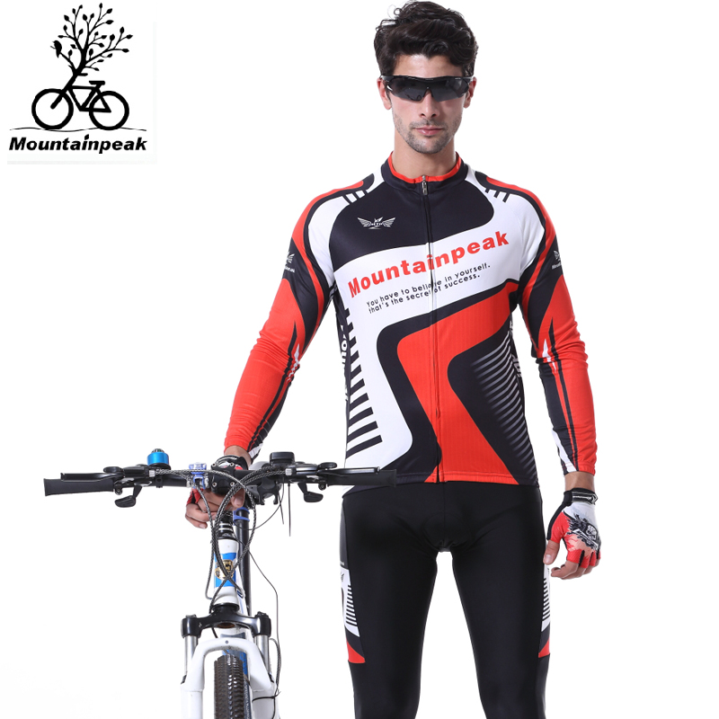 Mountainpeak Cycling Men and Women In The Summer Age Season Long Sleeve Cycling Wear Breathable Sunscreen Riding