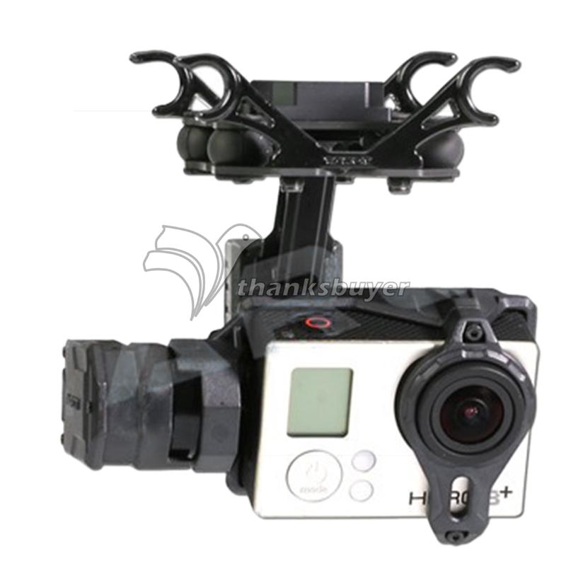 Tarot TL2D01 T2-2D 2-Axis Brushless Gimbal PTZ for Gopro 3 3+ 4 Sport Camera Aerial Photography FPV