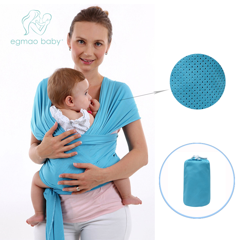 Hot Baby Carrier Sling For Newborns Soft Infant Wrap Breathable Wrap Hipseat Breastfeed Birth Comfortable Nursing Cover