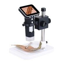 """500x2 Мп USB цифровой электронный микроскоп 8 светодиодный VGA ПК Камера микроскоп 2,"""", ВЫСОКАЯ ЧЁТКОСТЬ, ЖК-дисплей для материнская плата(Pcb) лупа для ремонтных работ с налобным креплением"""