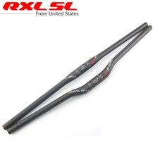 RXL SL RX60 Carbon Fiber Mountain Bike Flat Riser Handlebar