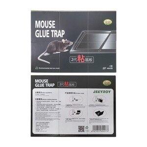 Image 5 - Nouveau Invisible collant souris colle conseil tueur Rat piège arachide odeur noir piège à souris